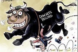 Dow Record Cartoon