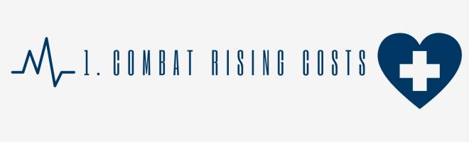 Combat rising healthcare costs