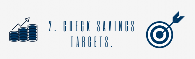 Check Savings Targets